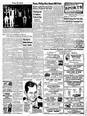 Northwest Arkansas Times from Fayetteville, Arkansas on March 22, 1952 · Page 5