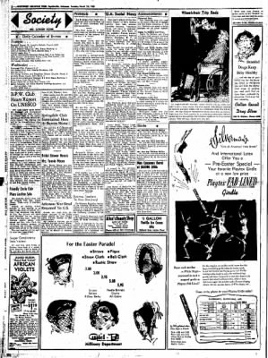 Northwest Arkansas Times from Fayetteville, Arkansas on March 25, 1952 · Page 2