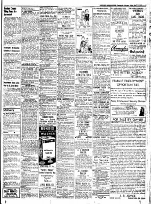 Northwest Arkansas Times from Fayetteville, Arkansas on April 11, 1952 · Page 7
