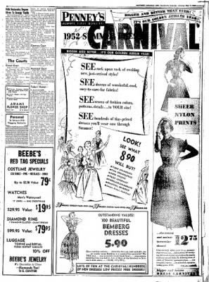 Northwest Arkansas Times from Fayetteville, Arkansas on May 1, 1952 · Page 3