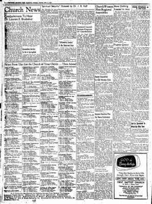 Northwest Arkansas Times from Fayetteville, Arkansas on May 3, 1952 · Page 2