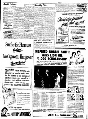 Northwest Arkansas Times from Fayetteville, Arkansas on May 13, 1952 · Page 5
