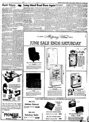 Northwest Arkansas Times from Fayetteville, Arkansas on June 18, 1952 · Page 7