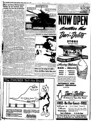 Northwest Arkansas Times from Fayetteville, Arkansas on July 7, 1952 · Page 6