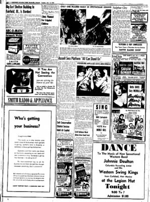 Northwest Arkansas Times from Fayetteville, Arkansas on July 15, 1952 · Page 12