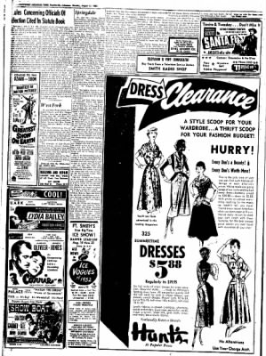 Northwest Arkansas Times from Fayetteville, Arkansas on August 11, 1952 · Page 14