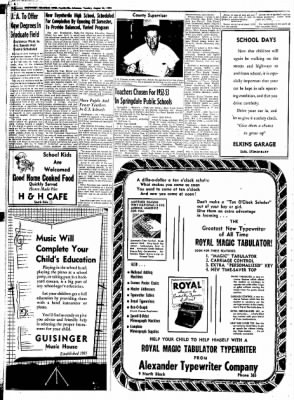 Northwest Arkansas Times from Fayetteville, Arkansas on August 26, 1952 · Page 28