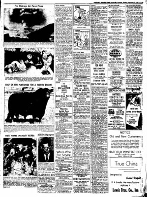 Northwest Arkansas Times from Fayetteville, Arkansas on September 1, 1952 · Page 9