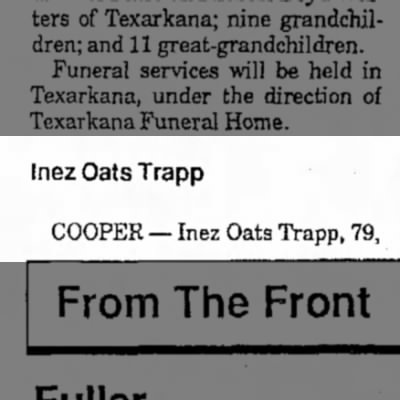 inez oats trapp 9 march 1989 pg 4