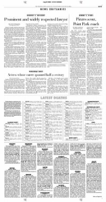 Pittsburgh Post-Gazette from Pittsburgh, Pennsylvania on August 28, 2004 · Page 13