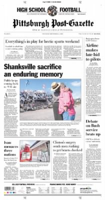 Pittsburgh Post-Gazette from Pittsburgh, Pennsylvania on September 11, 2004 · Page 1