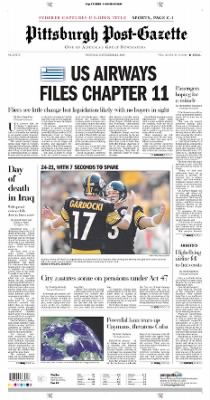 Pittsburgh Post-Gazette from Pittsburgh, Pennsylvania on September 13, 2004 · Page 1