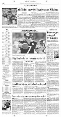 Pittsburgh Post-Gazette from Pittsburgh, Pennsylvania on September 21, 2004 · Page 38