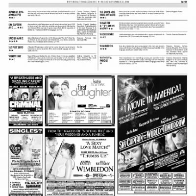 Pittsburgh Post-Gazette from Pittsburgh, Pennsylvania on September 24, 2004 · Page 83