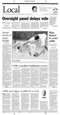 Pittsburgh Post-Gazette from Pittsburgh, Pennsylvania on September 28, 2004 · Page 10