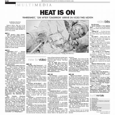 Pittsburgh Post-Gazette from Pittsburgh, Pennsylvania on October 1, 2004 · Page 189