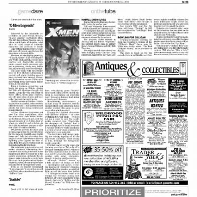 Pittsburgh Post-Gazette from Pittsburgh, Pennsylvania on October 22, 2004 · Page 106