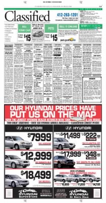 Pittsburgh Post-Gazette from Pittsburgh, Pennsylvania on October 23, 2004 · Page 35
