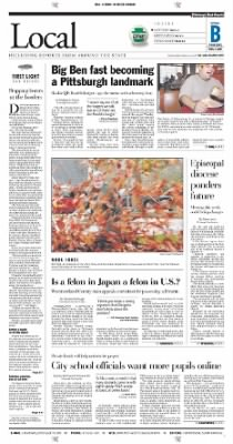 Pittsburgh Post-Gazette from Pittsburgh, Pennsylvania on November 4, 2004 · Page 19
