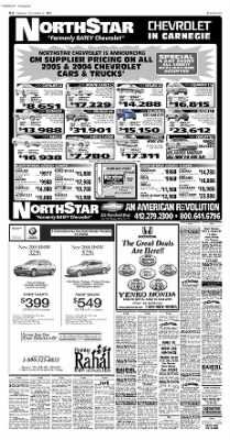 Pittsburgh Post-Gazette from Pittsburgh, Pennsylvania on November 6, 2004 · Page 52