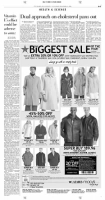 Pittsburgh Post-Gazette from Pittsburgh, Pennsylvania on November 11, 2004 · Page 3