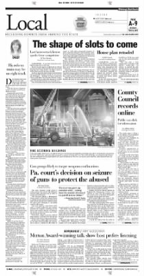 Pittsburgh Post-Gazette from Pittsburgh, Pennsylvania on November 15, 2004 · Page 9